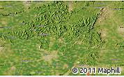Satellite Map of Chezhoushan