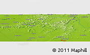 Physical Panoramic Map of Zhaogezhuang