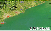 Satellite Map of Nanhai