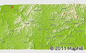 Physical 3D Map of Beiguantun