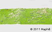 Physical Panoramic Map of Beiguantun