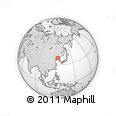 Outline Map of Majiadian, rectangular outline