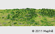 Satellite Panoramic Map of Yonghŭng