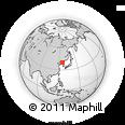 Outline Map of Uhyŏn-ni, rectangular outline