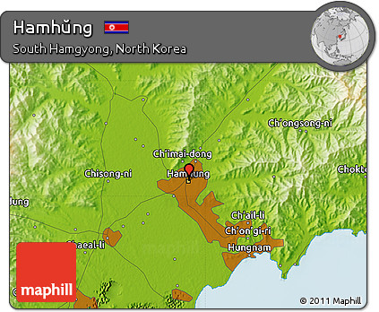 Free Physical Map of Hamhng