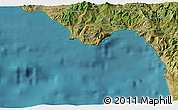 Satellite 3D Map of Praia a Mare