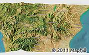 Satellite 3D Map of Morano Calabro