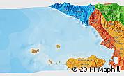 Political 3D Map of Stjar