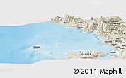 Shaded Relief Panoramic Map of Stjar