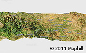 "Satellite Panoramic Map of the area around 39° 57' 6"" N, 21° 19' 30"" E"