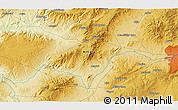 """Physical 3D Map of the area around 39°57'6""""N,32°22'30""""E"""
