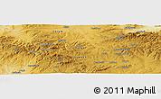 Physical Panoramic Map of Yozgat
