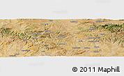 Satellite Panoramic Map of Yozgat