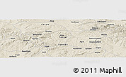 Shaded Relief Panoramic Map of Yozgat