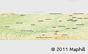 Physical Panoramic Map of Mocejón