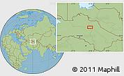 "Savanna Style Location Map of the area around 39°57'6""N,60°25'29""E"