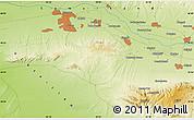 Physical Map of Ziyodin