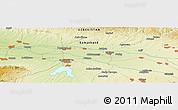 Physical Panoramic Map of Daul