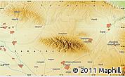Physical Map of Leninskiy