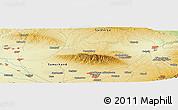 Physical Panoramic Map of Leninskiy