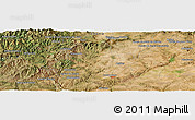 "Satellite Panoramic Map of the area around 39° 57' 6"" N, 7° 34' 30"" W"