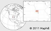 Blank Location Map of Wathena