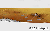 Physical Panoramic Map of Yaoquanzi