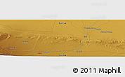 Physical Panoramic Map of Shuanggucheng