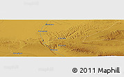 "Physical Panoramic Map of the area around 39° 57' 6"" N, 99° 31' 30"" E"