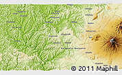 Physical 3D Map of Karioi