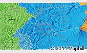 Political 3D Map of Karioi