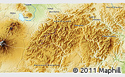 Physical 3D Map of Turangi