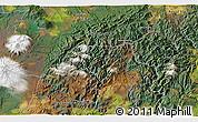 Satellite 3D Map of Turangi