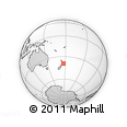 Outline Map of Weka Point, rectangular outline