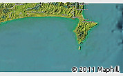 Satellite 3D Map of Wairoa