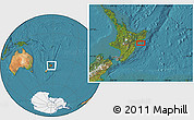 Satellite Location Map of Wairoa