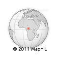 Outline Map of Nola, rectangular outline