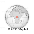 Outline Map of Mambukuru, rectangular outline
