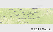 "Physical Panoramic Map of the area around 3° 19' 33"" N, 23° 52' 30"" E"