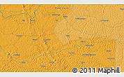 Political 3D Map of Bakindesungu