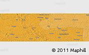 Political Panoramic Map of Bakindesungu