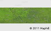 Satellite Panoramic Map of Gigino