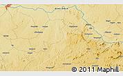 Physical 3D Map of Makapai