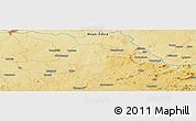 Physical Panoramic Map of Makapai