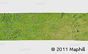 Satellite Panoramic Map of Buluma