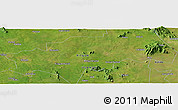 Satellite Panoramic Map of Kitgum