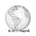 Outline Map of Camopi, rectangular outline