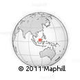 Outline Map of Q285, rectangular outline