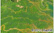 "Satellite Map of the area around 3°51'2""N,117°22'30""E"