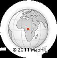 Outline Map of Wolenge, rectangular outline